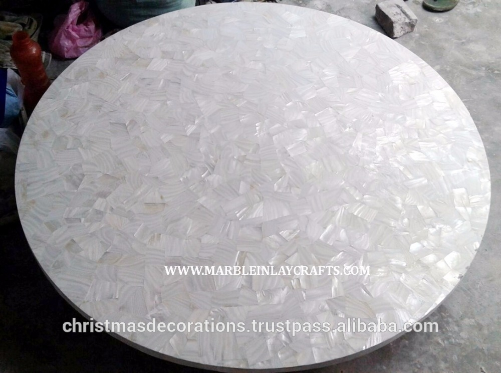 Great Elite Mother Of Pearl Coffee Tables Intended For Mother Of Pearl Table Top Mother Of Pearl Table Top Suppliers And (Image 22 of 50)