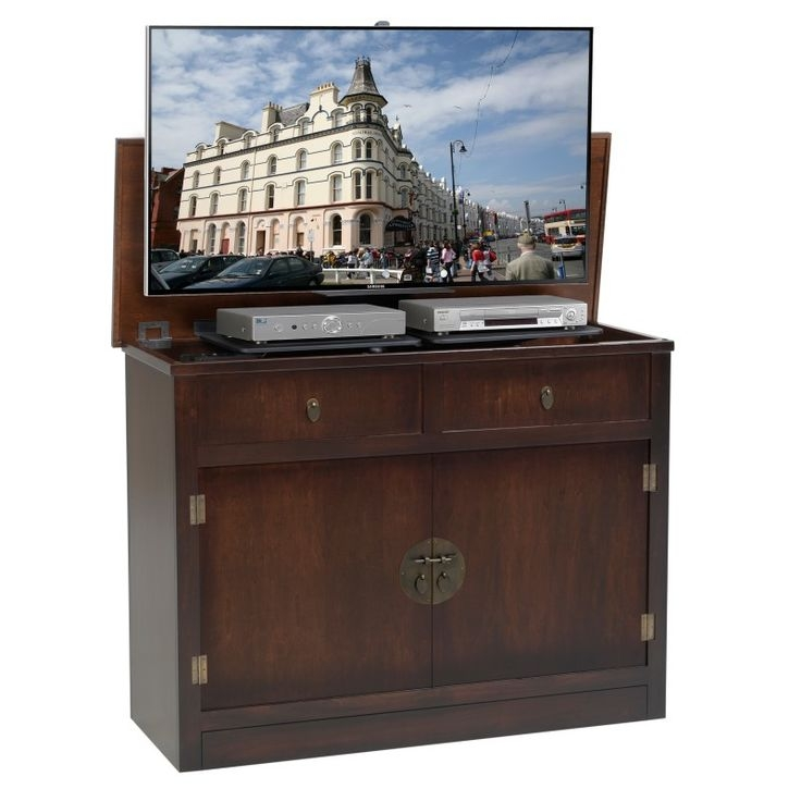 Great Elite Pop Up TV Stands Within 131 Best Concealing The Tv Images On Pinterest Mirror Tv Tv (Image 21 of 50)