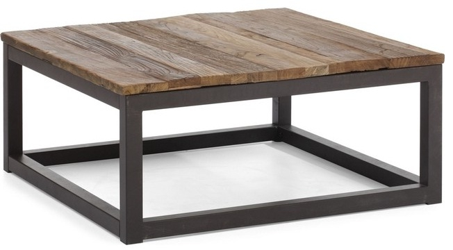 Great Elite Reclaimed Wood Coffee Tables Pertaining To Reclaimed Wood Coffee Table Claiming The Wasted Fruits Of Nature (View 27 of 50)