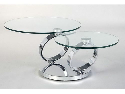 Great Elite Spiral Glass Coffee Table Pertaining To Attentionscan Relax On The Sofa With Your Glass Coffee Table (View 25 of 50)