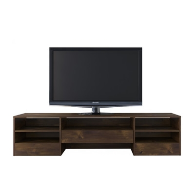 Great Elite Wood TV Stands Intended For Union Rustic Nori 72 Wood Tv Stand Reviews Wayfair (Image 28 of 50)
