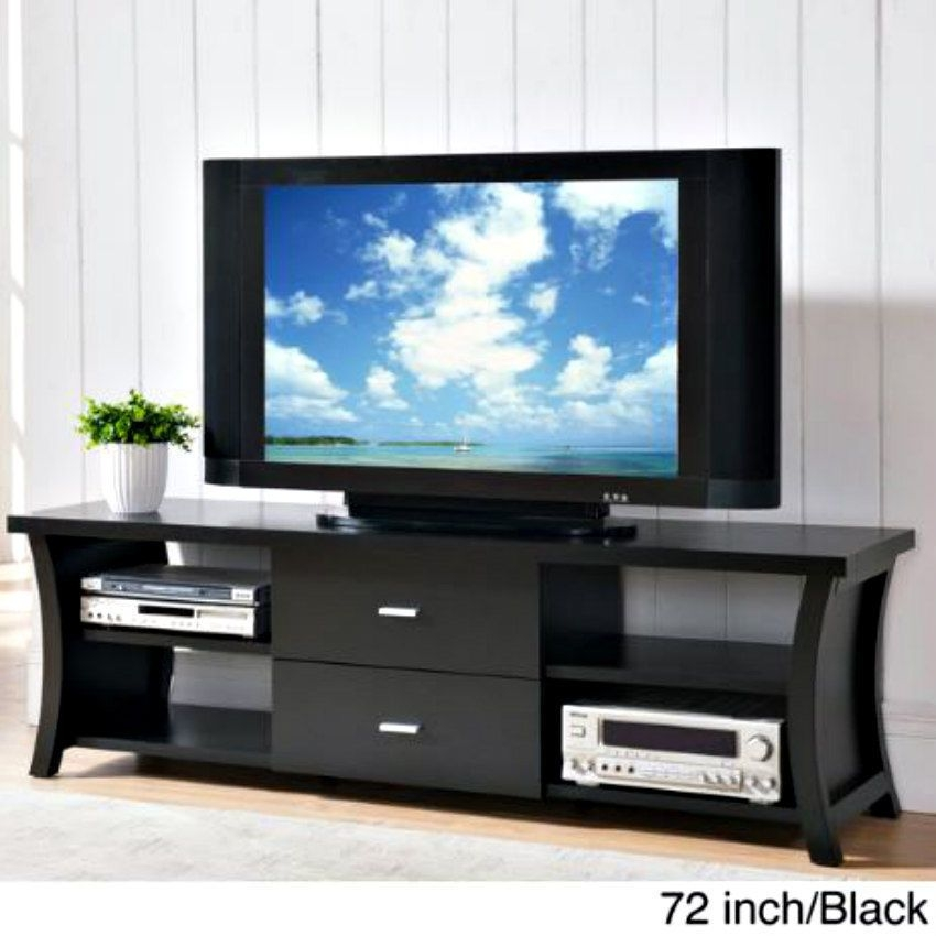 Great Famous Black TV Cabinets With Doors Intended For Tv Stands With Cabinet Doors (Image 29 of 50)