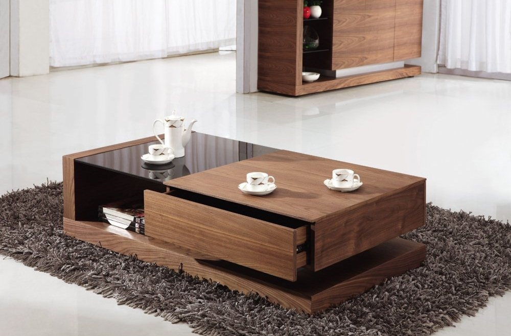 Great Famous Coffee Tables With Storage With Regard To Brilliant Modern Coffee Tables With Storage Tablemodern Wood Table (Image 19 of 40)