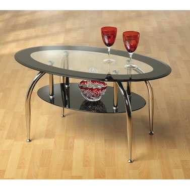 Great Famous Oval Black Glass Coffee Tables Intended For Fantastic Coffee Table Joy With Elegance Interior Design Ideas (Image 21 of 50)