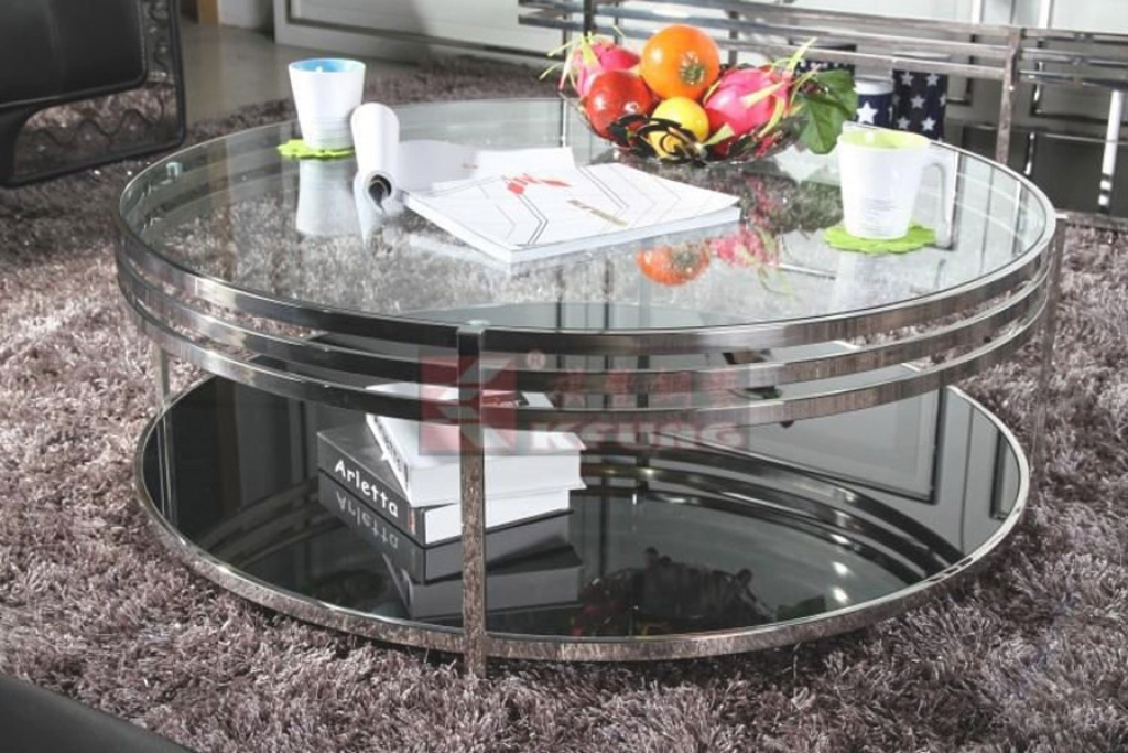 Great Famous Round Mirrored Coffee Tables With Regard To On Modern Coffee Table And New Round Mirrored Coffee Table Home (Image 13 of 40)