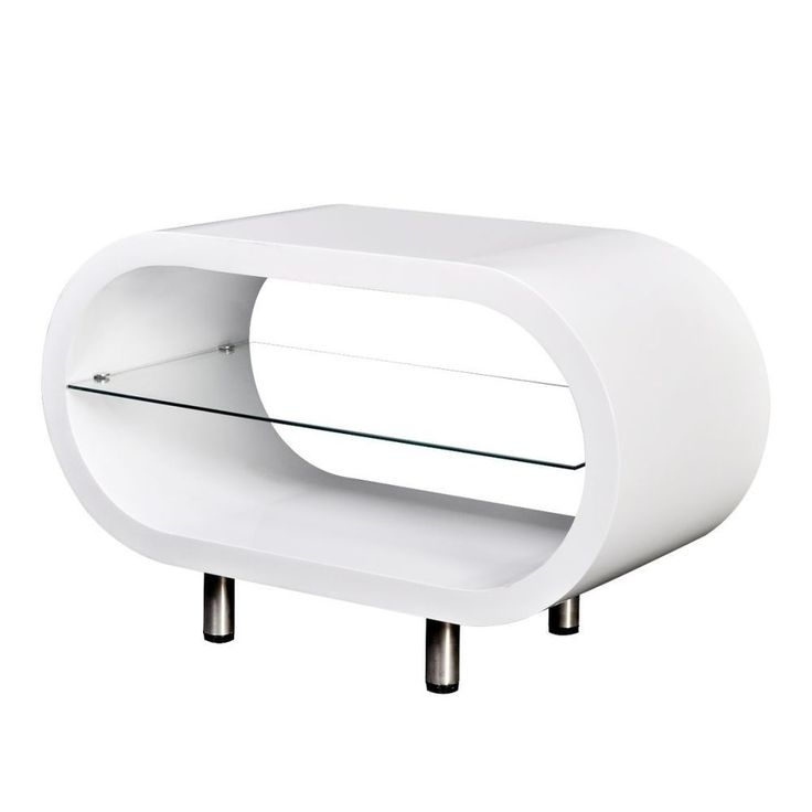 Great Famous White Gloss Oval TV Stands In Best 25 White Tv Stands Ideas On Pinterest Tv Stand Furniture (View 22 of 50)