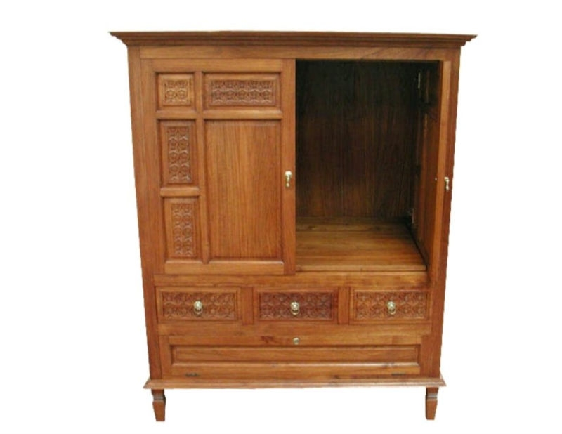 Great Famous Wooden TV Cabinets For Wood Tv Cabinet Wood Tv Cabinet Suppliers And Manufacturers At (View 49 of 50)