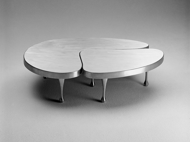 Great Fashionable Aluminium Coffee Tables Regarding Ki09 Coffee Table Codici Collection Matrix International (Image 24 of 50)