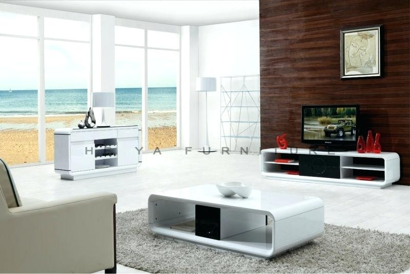 Great Fashionable Coffee Tables And TV Stands Matching Intended For Coffee Table Living Room Set Furniture Home Wooden Panel Coffee (View 8 of 50)