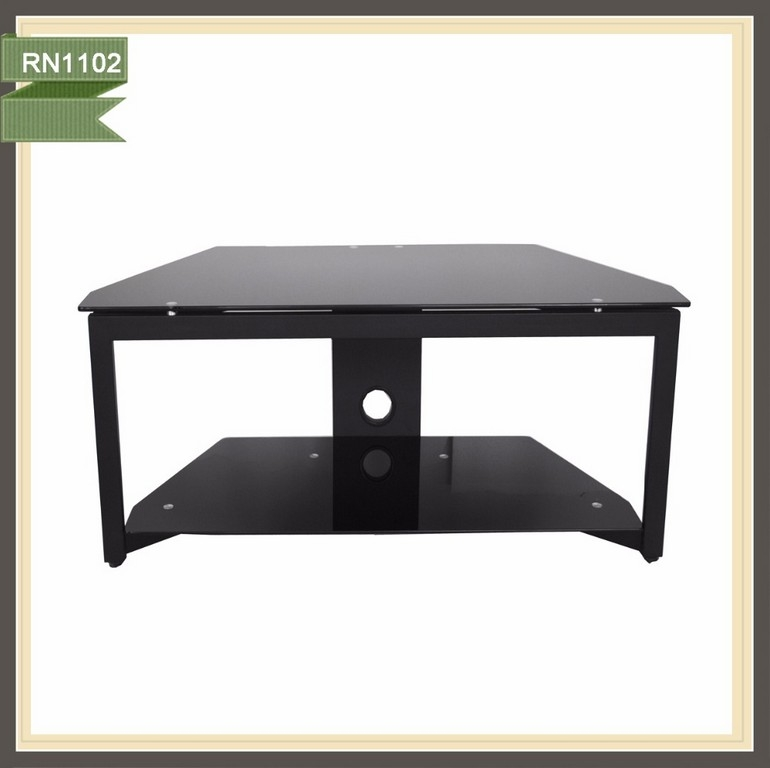Great Fashionable Glass Front TV Stands With Furniture Stand Glass Dark Wood Tv Cabinet Plasma Stands Tv (Image 23 of 50)
