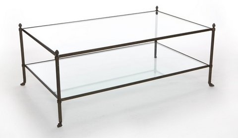 Great Fashionable Glass Metal Coffee Tables Intended For Coffee Tables The Kellogg Collection (Photo 32 of 50)