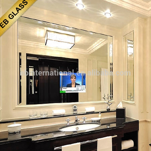 Great Fashionable Mirror TV Cabinets Regarding Hidden Tv Mirrormirror Tv On Cabinet Dooreb Glass Buy Mirror (Image 23 of 50)