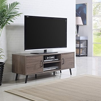 Great Fashionable Modern TV Stands In Amazon Mid Century Modern Tv Stand Ash Kitchen Dining (Image 24 of 50)