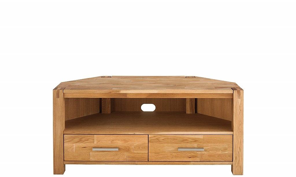 Great Fashionable Oak Corner TV Cabinets Regarding Royal Oak Corner Tv Unit (Image 22 of 50)