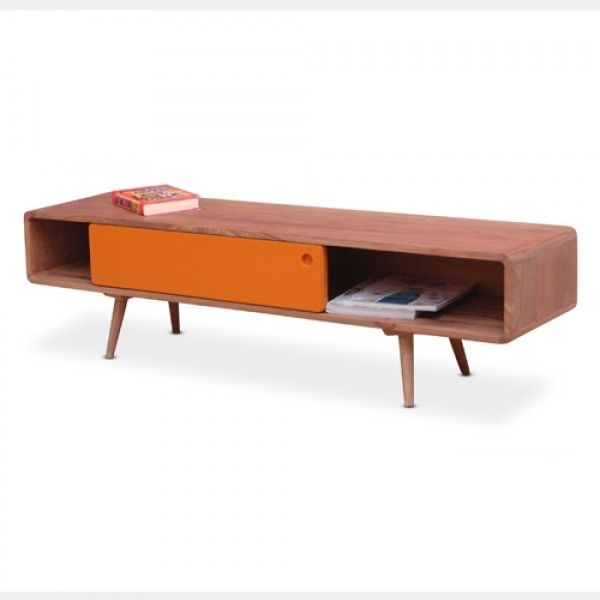 Great Fashionable Orange TV Stands In 18 Best Tv Stands Images On Pinterest (View 25 of 50)
