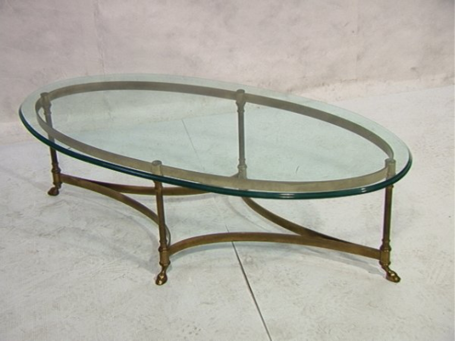 Great Fashionable Oval Glass Coffee Tables In Magnificent Oval Glass Coffee Table Coffee Table Smart Beautiful (Image 21 of 50)