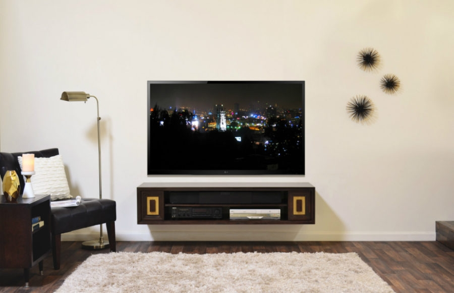 Great Fashionable Rectangular TV Stands With Wall Shelves Design Tv Shelving Units Wall Mounts Ideas (Image 24 of 50)