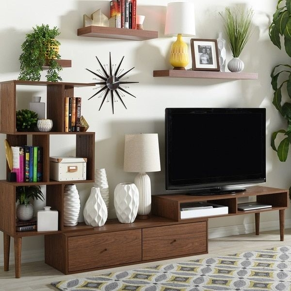 Great Fashionable TV Stands And Computer Desk Combo Throughout Best 25 Small Tv Unit Ideas Only On Pinterest Wall Mounted Tv (Photo 39 of 50)