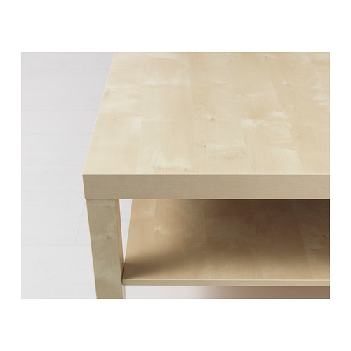 Great Favorite Birch Coffee Tables With Lack Coffee Table Birch Effect 118×78 Cm Ikea (Image 22 of 50)