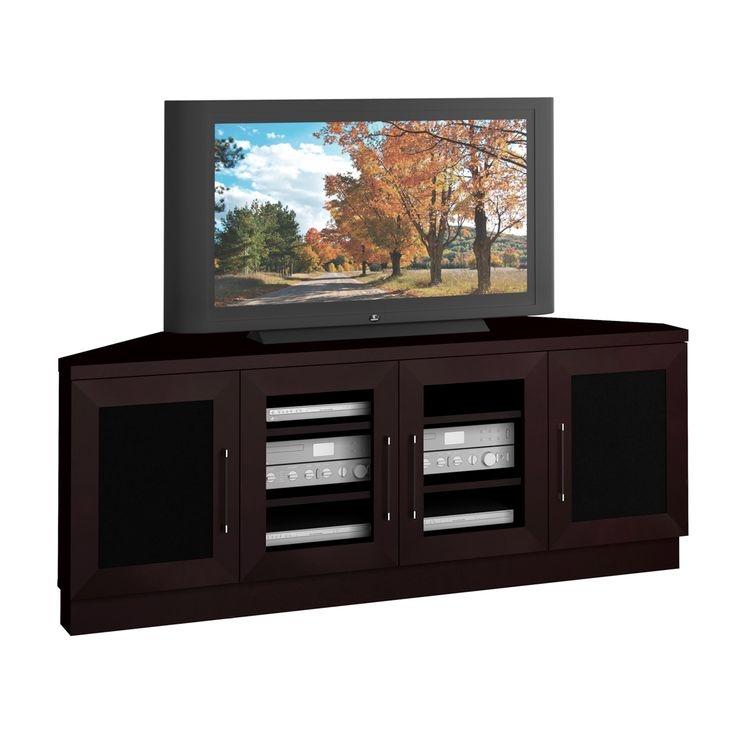 Great Favorite Black Corner TV Stands For TVs Up To 60 With 26 Best Media Cabinet Images On Pinterest Corner Tv Stands (Image 24 of 50)