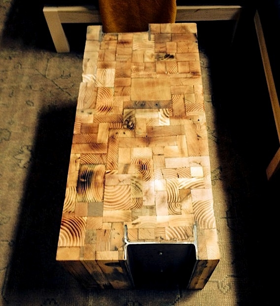 Great Favorite Chunky Wood Coffee Tables Throughout 5 Handmade Coffee Tables In Reclaimed Wood The Alternative Consumer (Image 21 of 50)