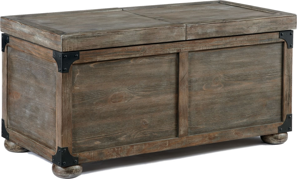 Great Favorite Dark Wood Coffee Table Storages Pertaining To Chest Coffee Table (Image 23 of 50)