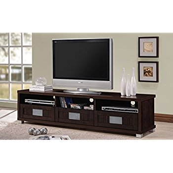 Great Favorite Dark Wood TV Cabinets Pertaining To Amazon Wholesale Interiors Baxton Studio Beasley Tv Cabinet (View 30 of 50)