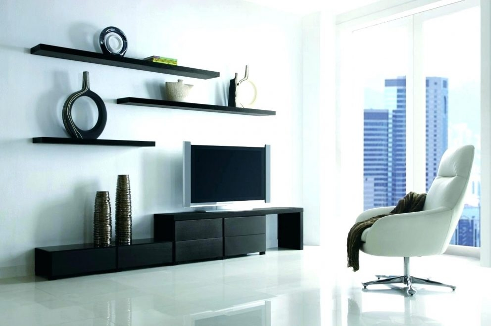 Great Favorite Dwell TV Stands Regarding Floating Tv Shelf Unit Appalachianstorm (Image 21 of 50)