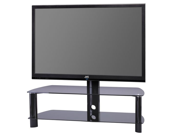 Great Favorite Swivel Black Glass TV Stands Pertaining To 61 Best Black Glass Tv Stands Images On Pinterest Cable (View 50 of 50)