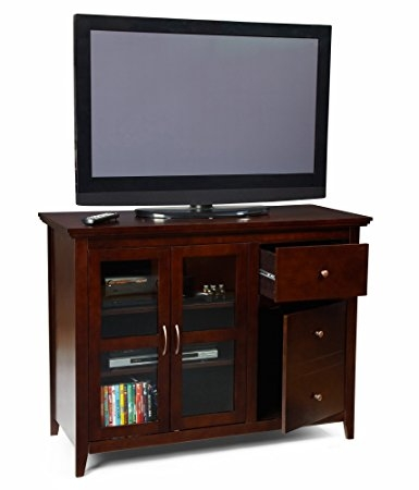 Great Favorite TV Stands For 50 Inch TVs Throughout Amazon Convenience Concepts Designs2go Sierra Highboy Tv (Image 23 of 50)
