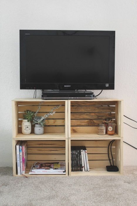 Great Favorite TV Stands For Small Rooms Within Best 25 Diy Tv Ideas On Pinterest Diy Tv Stand Diy (View 2 of 50)