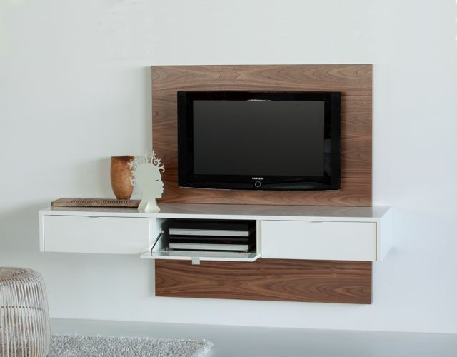 Great Favorite TV Stands With Back Panel With Best 25 Floating Tv Stand Ideas On Pinterest Tv Wall Shelves (View 20 of 50)