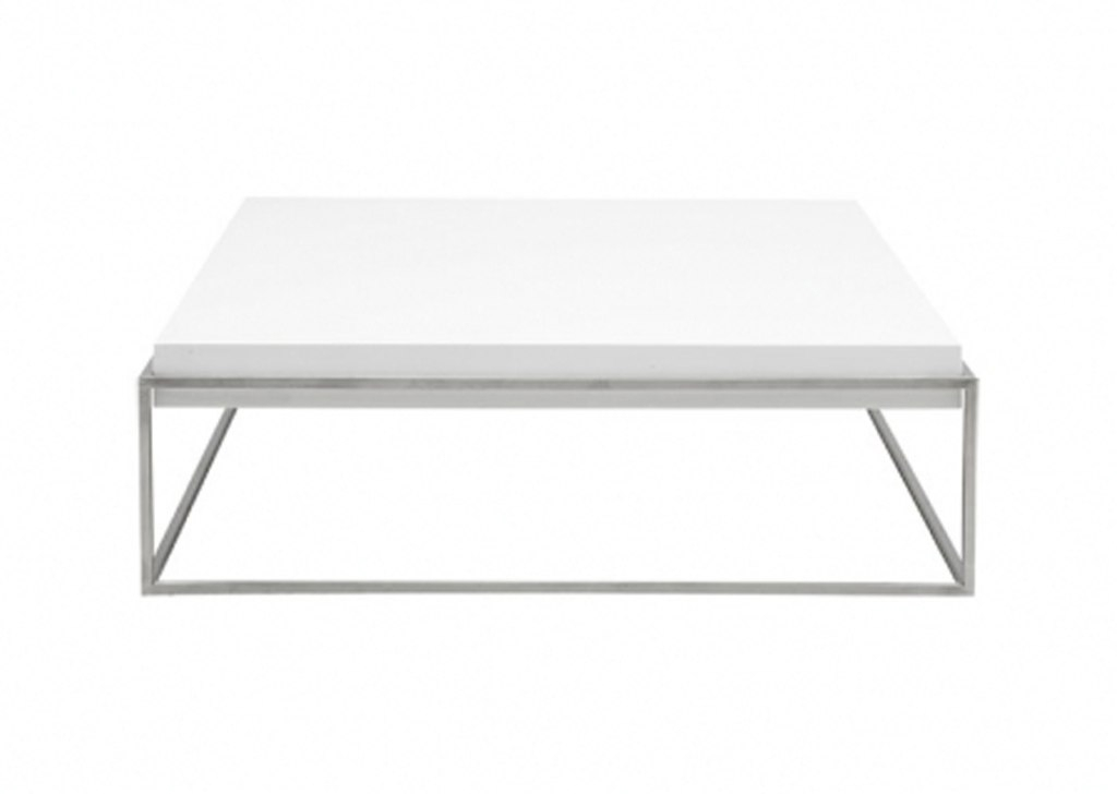 Great Favorite White Square Coffee Table Regarding Living Room The Plastic White Square Coffee Table About Designs (Image 19 of 50)