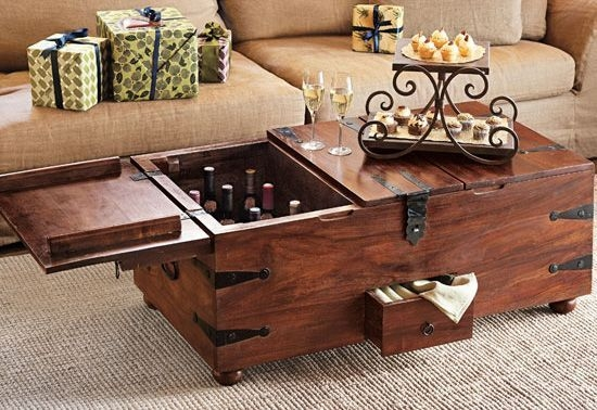 Great Favorite Wooden Trunks Coffee Tables Within Wooden Trunk Coffee Table Good Lift Top Coffee Table For Round (View 8 of 40)
