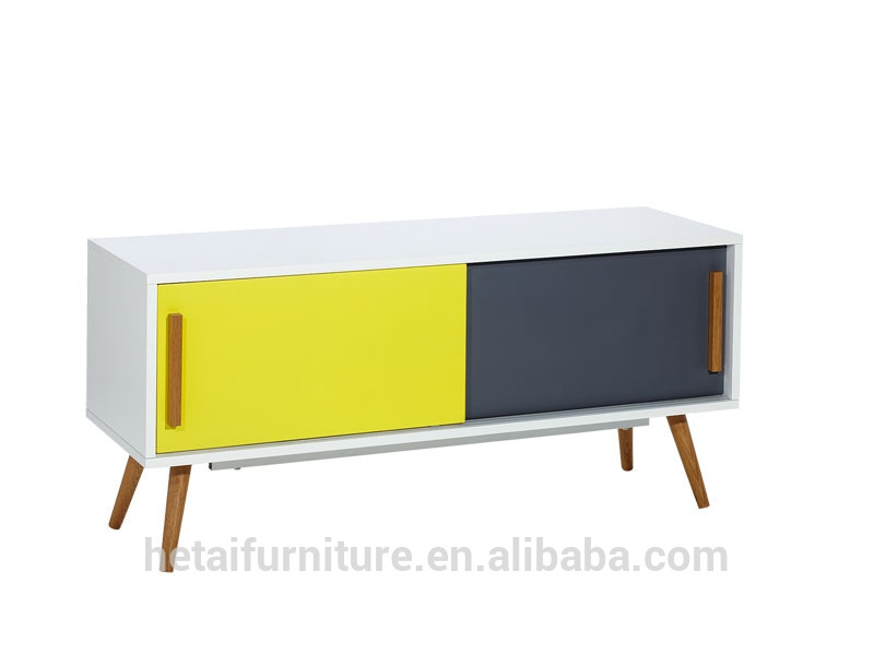 Great Favorite Yellow TV Stands With Regard To 2016 Newest Design Modern Wood Tv Standtv Tabletv Unittv (View 6 of 50)