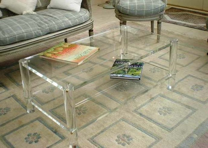Great High Quality Ava Coffee Tables Within Coffee Table Ava Grand Modern Acrylic Glass Coffee Table Coffee (View 47 of 50)