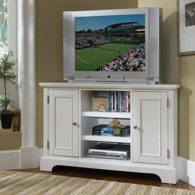 Great High Quality Bedford TV Stands Throughout Alcott Hill Gaylord Corner 50 Tv Stand Reviews Wayfair (Image 26 of 50)