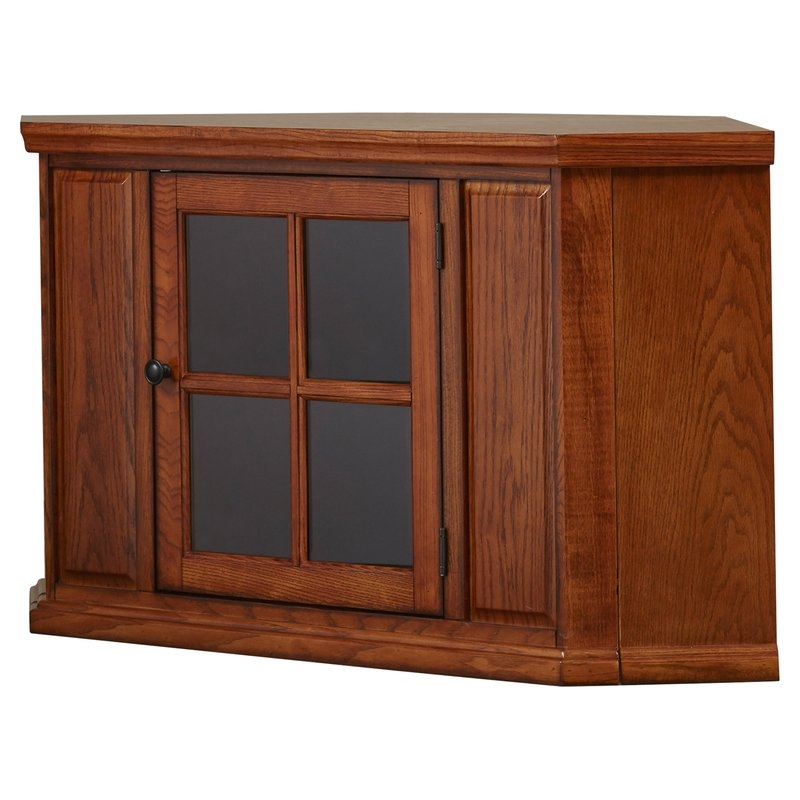 Great High Quality Hardwood TV Stands With Three Posts Benson Corner 47 Tv Stand Reviews Wayfair (Image 27 of 50)