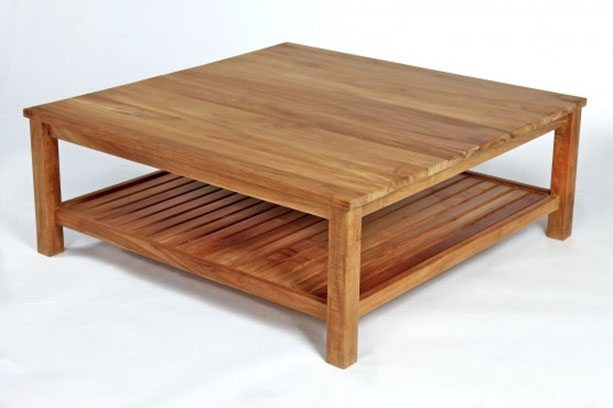 Great High Quality Large Square Coffee Tables Regarding Large Square Coffee Tables Homefurniture (Image 33 of 50)
