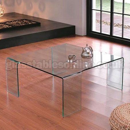 Great High Quality Large Square Glass Coffee Tables In Large Glass Coffee Table (Image 24 of 50)