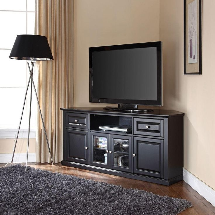 Great High Quality Oak Corner TV Stands For Flat Screens Inside Oak Corner Tv Stands For Flat Screens Home Design Ideas (Image 24 of 50)