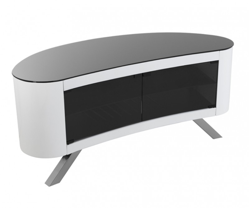 Great High Quality Oval White TV Stands Pertaining To Affinity Tv Stands Tv Stands (Image 26 of 50)