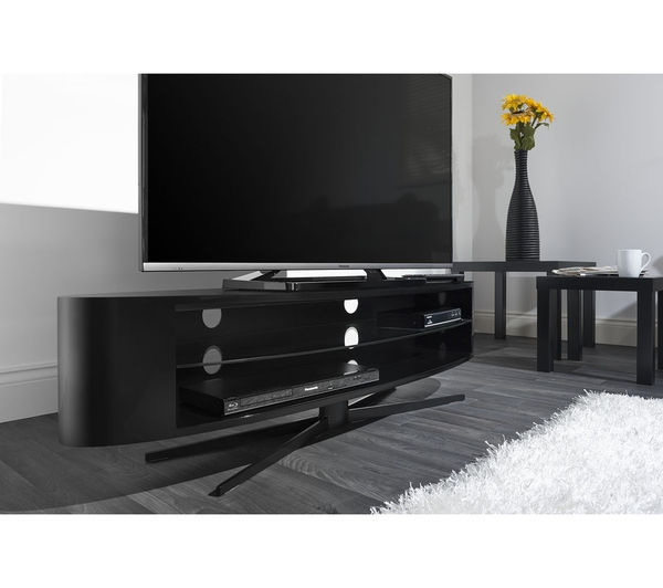 Great High Quality Techlink TV Stands Sale Throughout Buy Techlink Ellipse El140b Tv Stand Free Delivery Currys (Image 21 of 50)