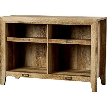 Great High Quality TV Stands In Oak Regarding Amazon Rustic Oak Tv Stand Farmhouse Style For Your (View 21 of 50)
