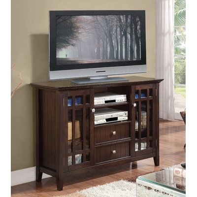 Great Latest Bedford TV Stands Regarding Simpli Home Bedford Tv Stand 3axcbed 01 Qsi (Image 28 of 50)