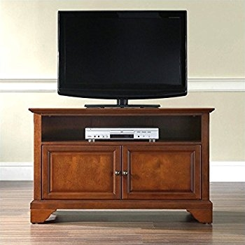 Great Latest Classic TV Stands Regarding Amazon Crosley Furniture Alexandria 42 Inch Tv Stand (Image 21 of 50)