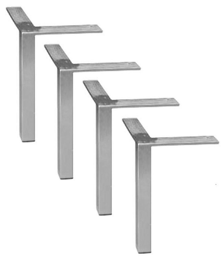 Great Latest Coffee Tables With Chrome Legs With Regard To 4 Diy Square Brushed Steelchrome Benchcoffee Tablefurniture (Image 22 of 50)