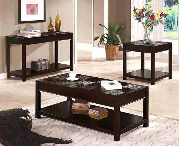 Great Latest Contemporary Coffee Table Sets Regarding Contemporary Coffee Table Co 028 Classic (View 4 of 50)