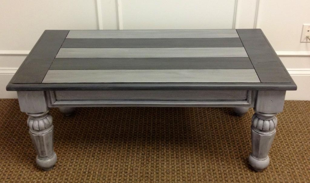 Great Latest Gray Wood Coffee Tables Within Silver Wood Coffee Table Idi Design (Image 20 of 50)