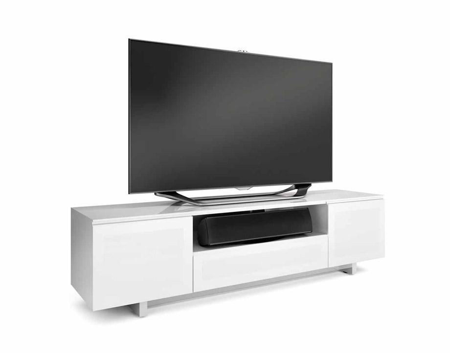 Great Latest Large White TV Stands Inside White Tv Stands Uk Elliot White Large Av Unit Email Address (Image 22 of 50)